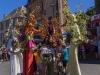 les marraines fées spectacle échasses colorés féerique