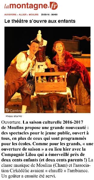 (www.lamontagne.fr - Moulins - MOULINS (03000) - Le th351342