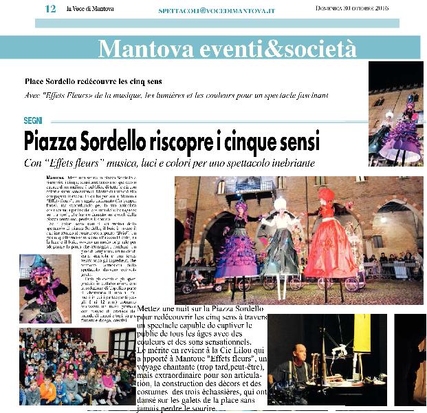 La Voce di Mantova - domenica 30 ottobre 2016